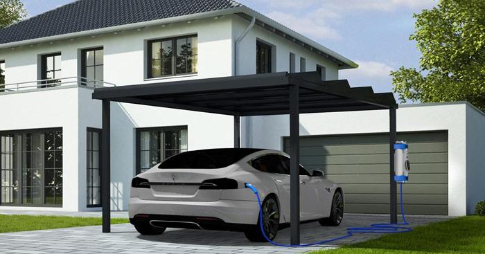 Carport photovoltaïque
