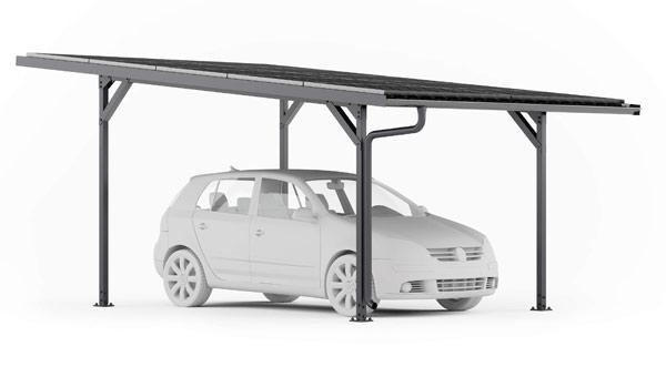 Carport photovoltaïque E-Port Home Simple