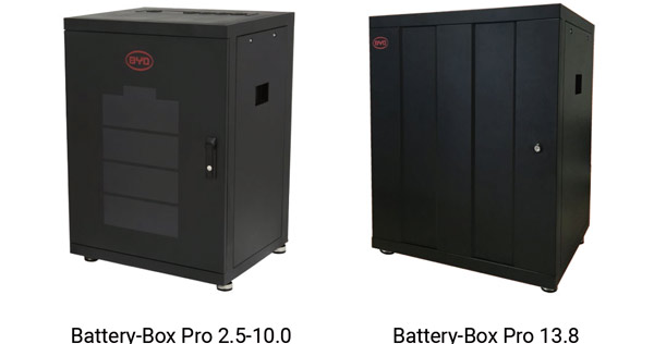 stockage autoconsommation BYD Battery-Box pro