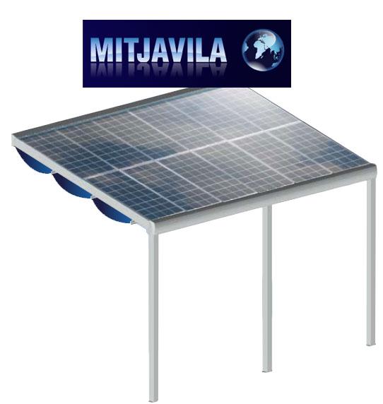 Brise soleil photovoltaïque Mitjavila