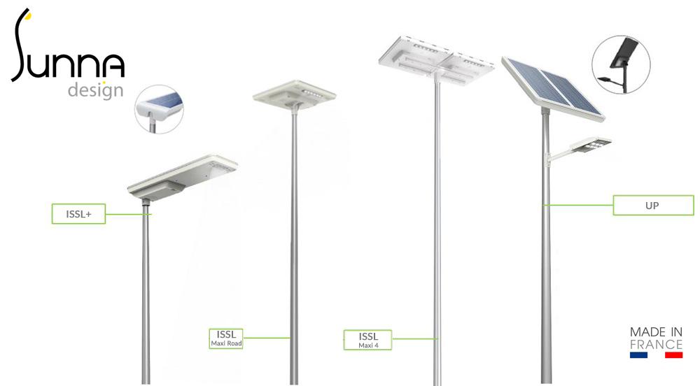 éclairage public photovoltaique