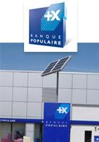 site isolé Banque populaire