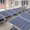installation photovoltaïque sur toit plat